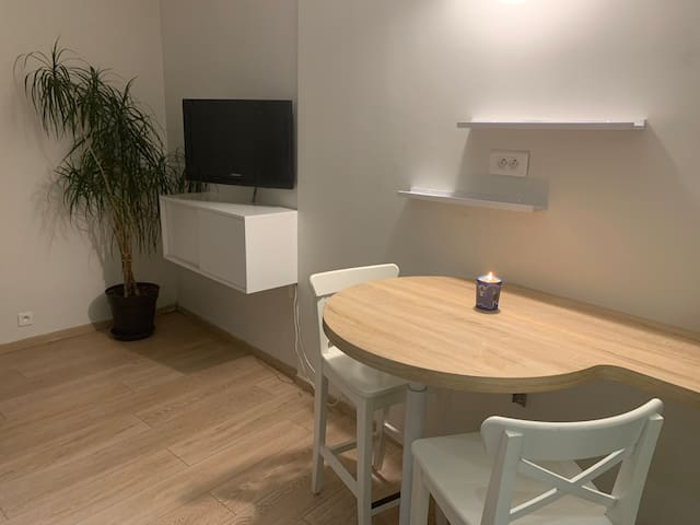 Nice & Furnished Studio near Buttes Chaumont parc