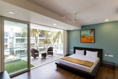 2BHK Exotic Waves Luxury Apartment in Calangute