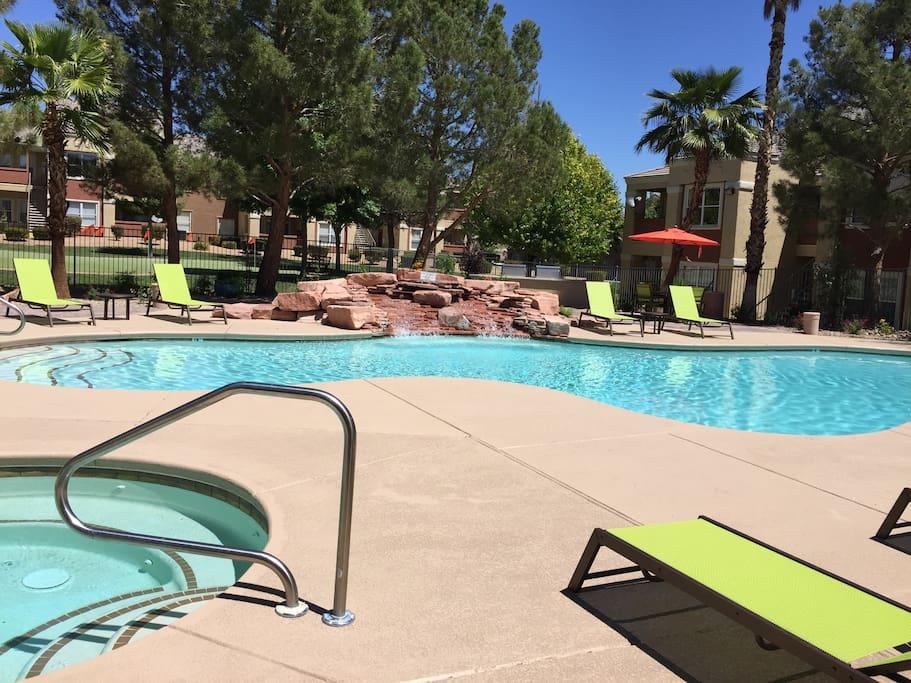 Swimming Pool Open 24/7