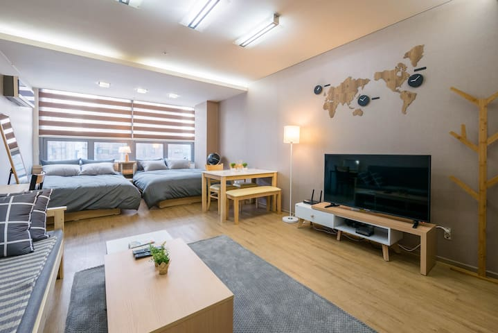 Gangnam stn New Clean & Comfort Apartment