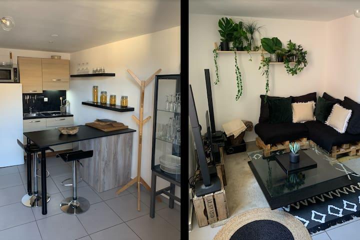 Studio Cosy dans le centre de Vaison La Romaine