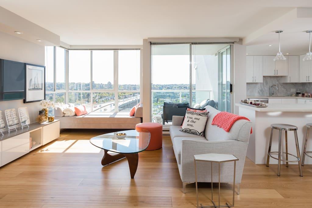 wow waterview 1bd ba parking wifi appartements louer vancouver colombie britannique canada. Black Bedroom Furniture Sets. Home Design Ideas