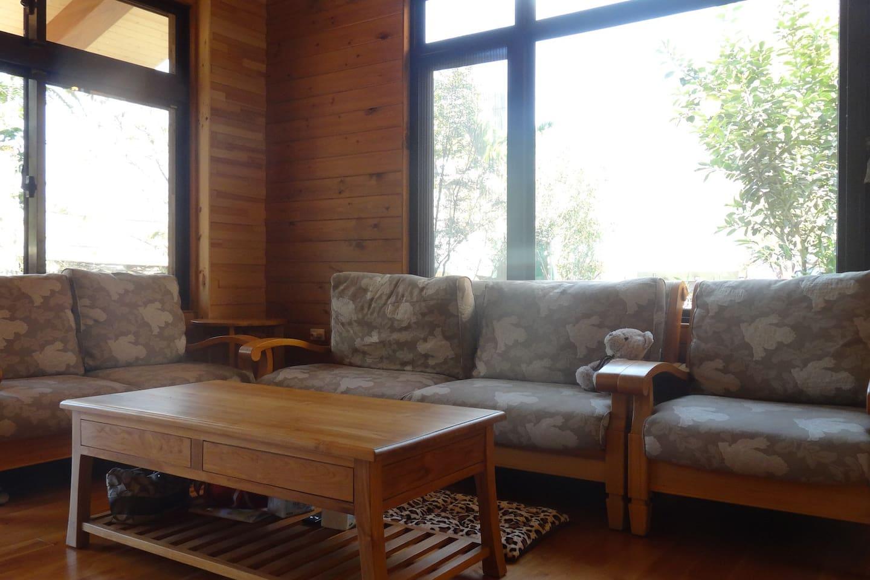 舒適寬敞的客廳