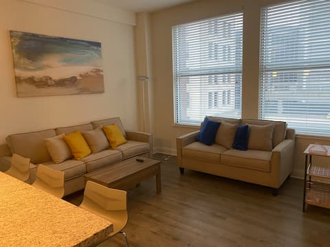 Downtown 1 BR Apartment in Historic Building