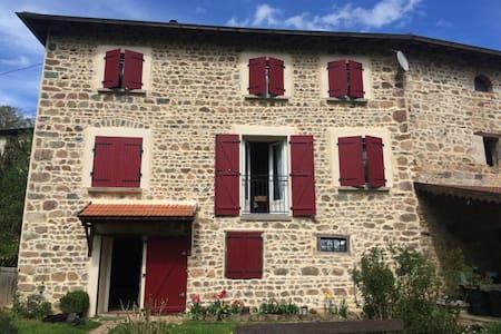 Superbe maison au ❤️ du beaujolais - Grandris