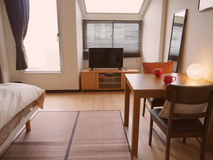 Cozy and convenient apartment in Ikejiriohashi .