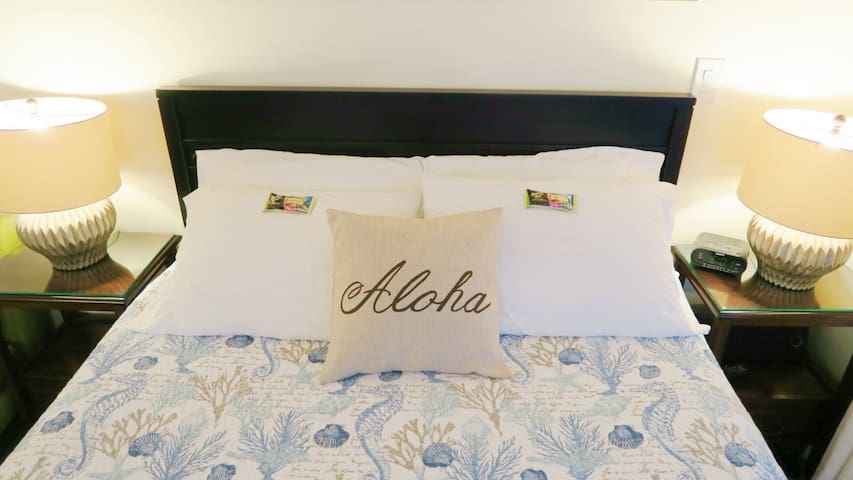 Aloha Suite Near the Sea II, 3 Min Walk to Beach