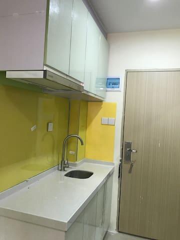 地铁站附近loft公寓次卧,舒心温暖 - Shenzhen - Wohnung