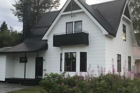 Lovely country house with open fire in Jörn