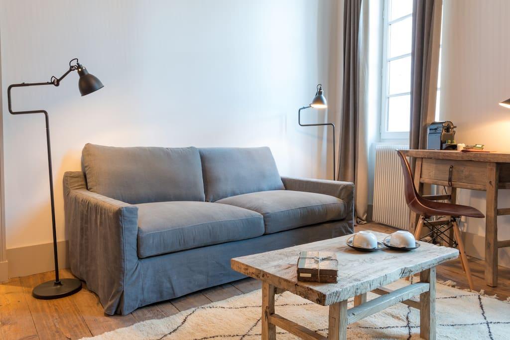 le logis de la cad ne chambre 1782 maisons louer saint milion. Black Bedroom Furniture Sets. Home Design Ideas