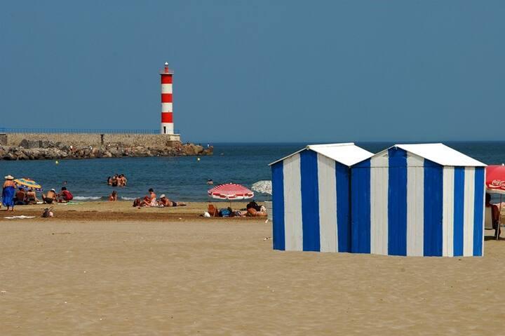 Villa climatisée située à 400 Mètres de la plage