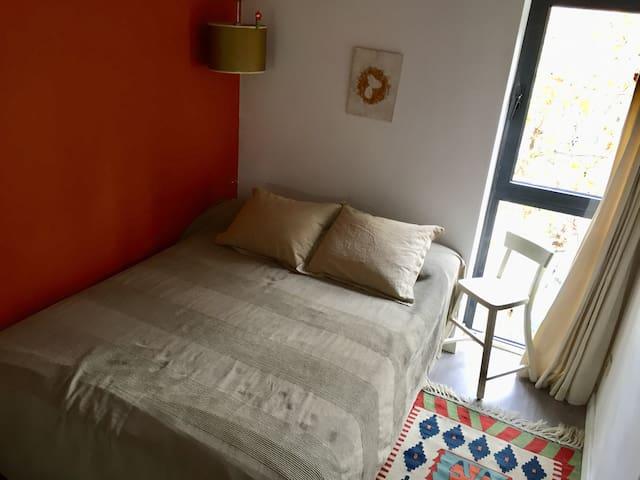 Habitación doble en Barcelona centro