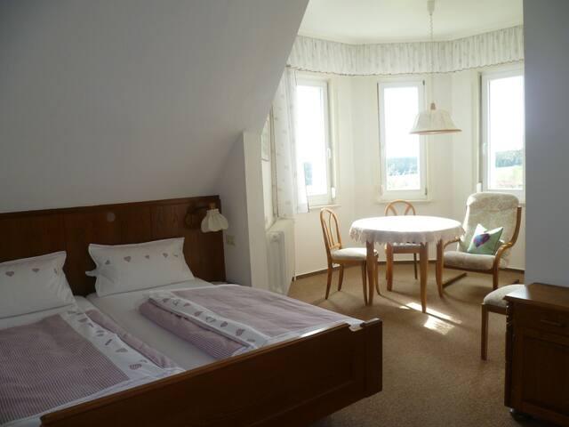 Pension Mast, (Freudenstadt), Doppelzimmer mit Dusche/WC