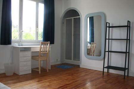 Studio meublé indépendant proche Erdre et Centre - Nantes - Huoneisto