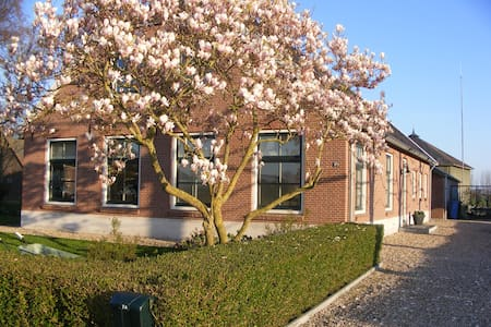 Spacious holiday home with garden. - Zegveld - Apartament
