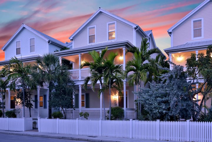 3 Story spacious conch style home with private pool AND dock!