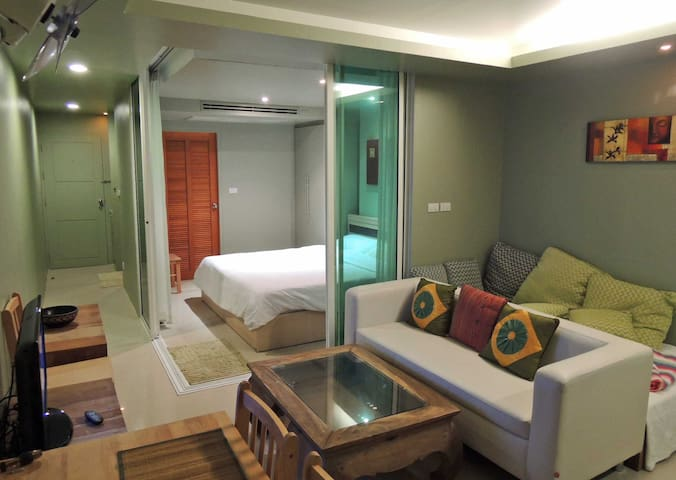A2- Appartment for 2 persons nr to beach - Ao Nang - Appartement en résidence