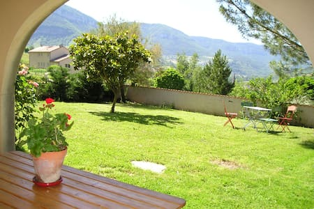 Gîte indépendant plein-pied, terrasse, jardin clos