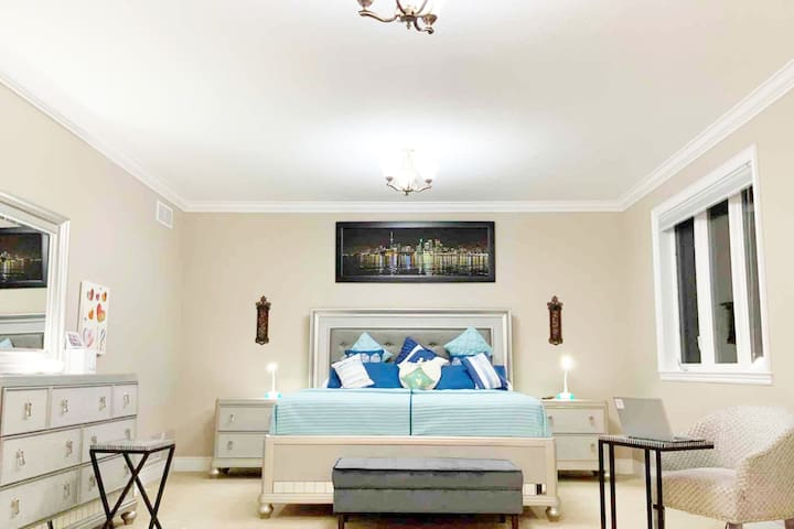 Moonstone = Master bedroom - •This is us.
