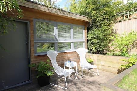 Sunny Studio with Private Patio.