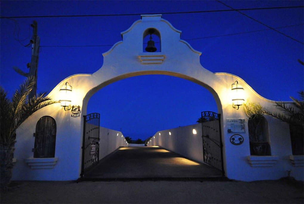 Front Gate To El Fin Del Mundo