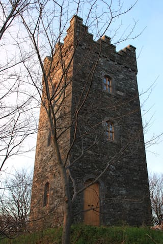 Drummond Tower / Castle - Coolfore, Monasterboice, Drogheda - Castell
