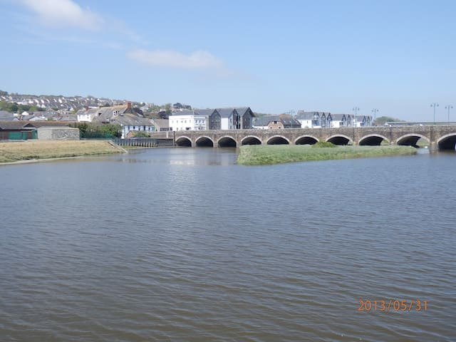 Riverside apartment, Wadebridge - Wadebridge - Apartment