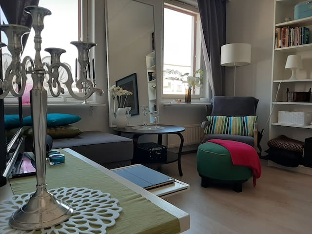 Bright, cosy valuable studio apartment in Vaasa