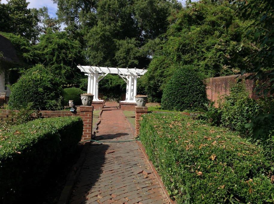 Walled English Garden