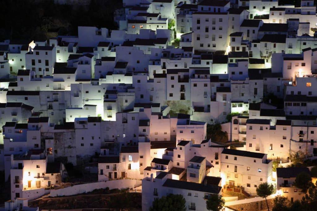 Casares Village in the night