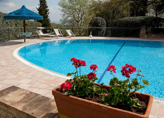 """Francesca house"" with private pool - Gambassi Terme"
