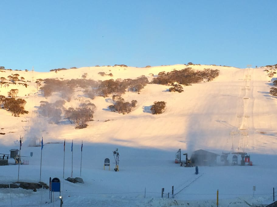 Morning Glory , Actual view from Mountain View Chalet