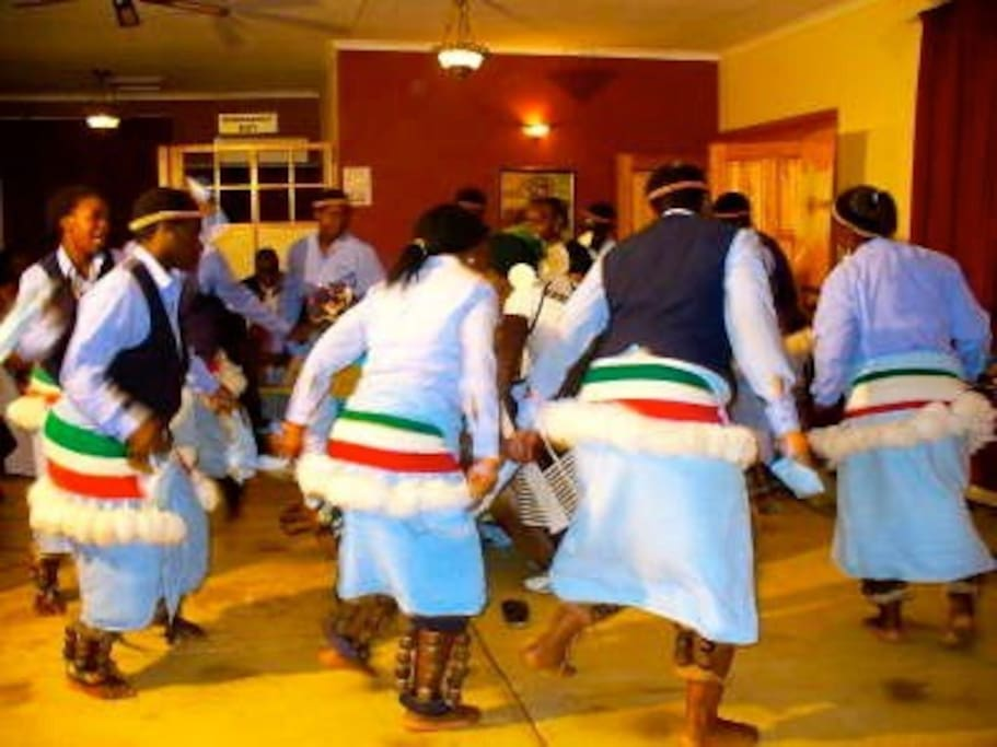 Traditional dancers can be arranged at an additional cost