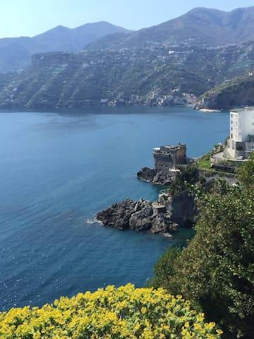 villa con splendida vista mare - maiori - Villa