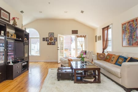 Big Room in Gorgeous Spacious Luxury Apartment - Guttenberg - Huoneisto