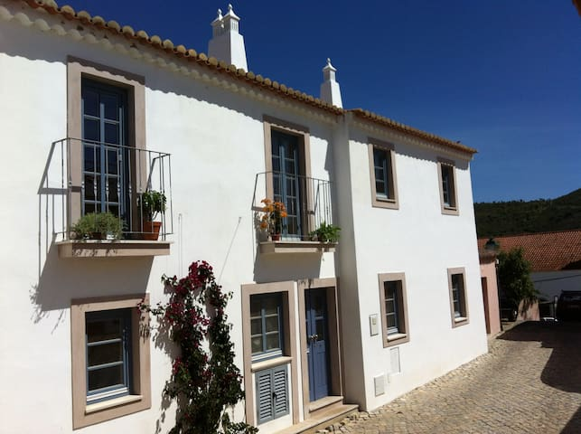 The house situated in the oldest part of the village, close to the centre.