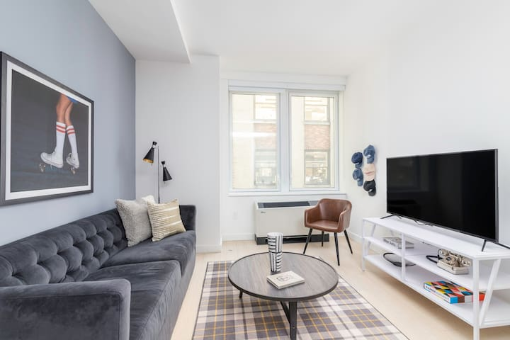 Sonder | Stock Exchange | Classic 1BR + Kitchen