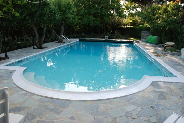 Bungalow with swimming pool - Acharnes - Srub