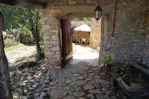 Mont-rebei, habitación doble en Masia Serret