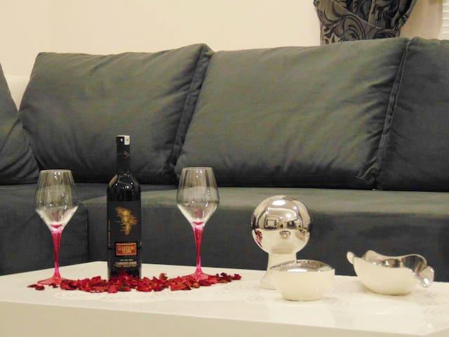 Wohnung in Luxus Residenz mit Wellnessbereich - Alanya - Lejlighed