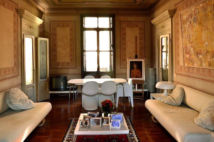 Elegantissimo appartamento del 1800 - Badia Polesine - Apartamento