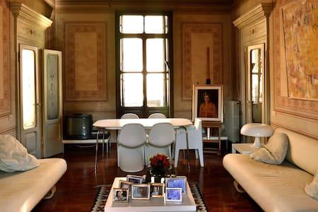 Elegantissimo appartamento del 1800 - Badia Polesine - อพาร์ทเมนท์