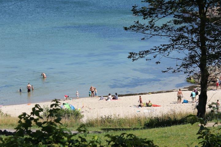 Bornholm, Sandkås havudsigt strand - Allinge - Zomerhuis/Cottage