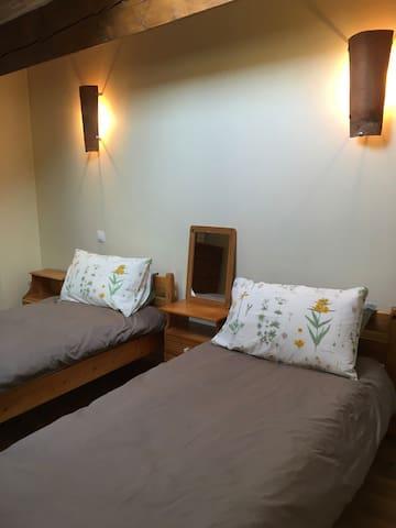 The Magnolia bedroom
