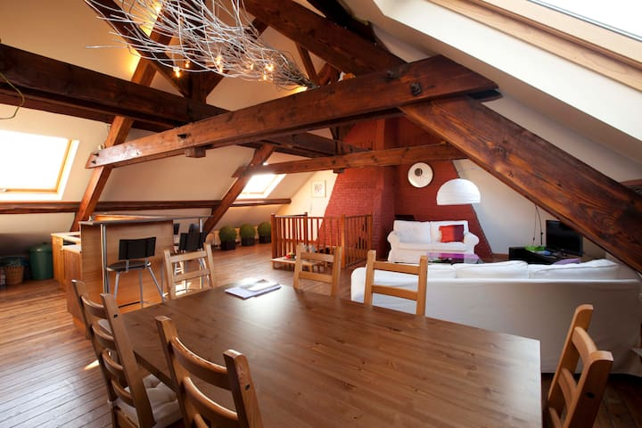 Room in beautiful central loft