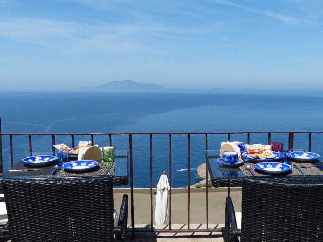 Monte Solaro's room +free shuttle check-in - Anacapri - Bed & Breakfast