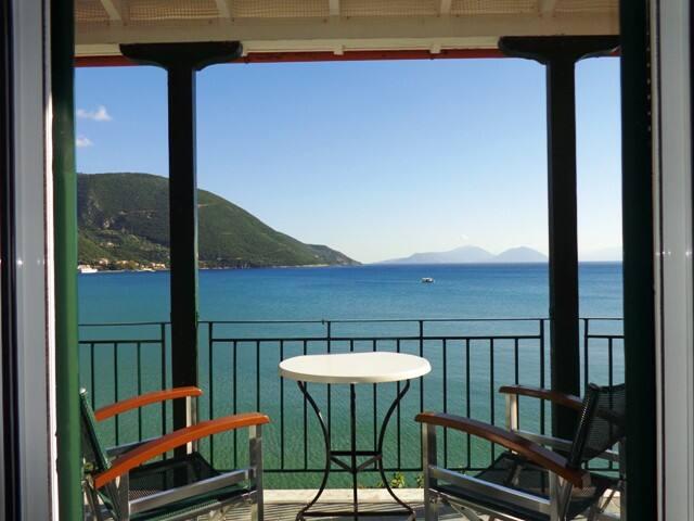 Cozy studio with great sea view