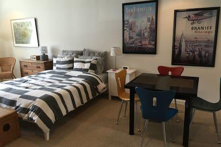 Quiet Private Studio Apt. - San Francisco - Apartment