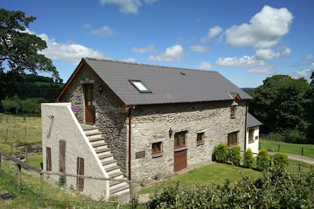 Beautifully converted barn, in a beautiful setting - Newchapel - Dom