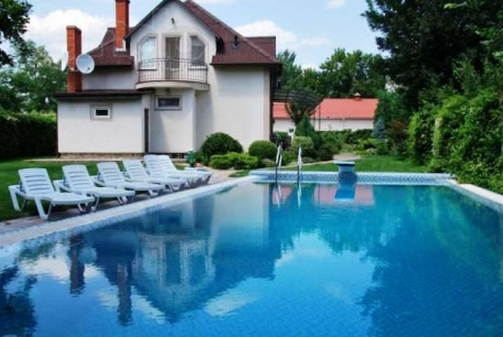 House 3 mins Sea with Pool 15 mins by car Center! - Chornomors'ke - Dům